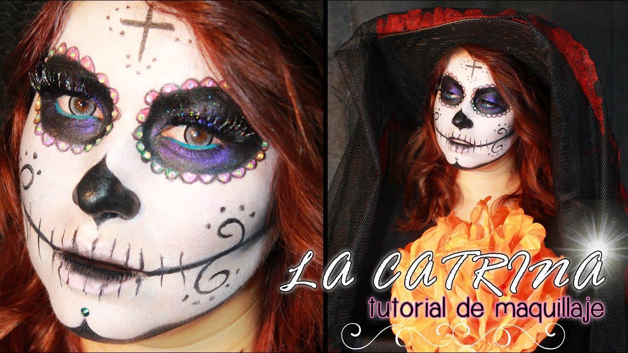 HALLOWEEN Maquillaje de Catrina