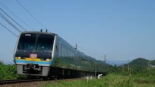 2019/09/16 JR土讃線 後免→土佐大津 特急「南風9号」高知行 39D