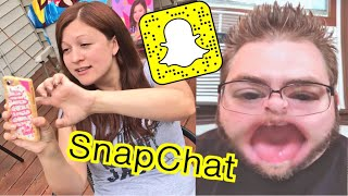 WE GOT SNAPCHAT! HILARIOUS REACTIONS 😂 ADD US!