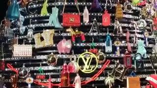 Louis Vuitton window display in NYC
