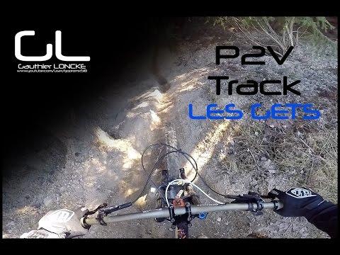 Les Gets - P2V track - MTB / DH - GoPro Hero 5