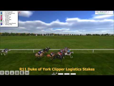 Season 2 FLAT Wk4 R11 Duke of York Clipper Logistics Stakes