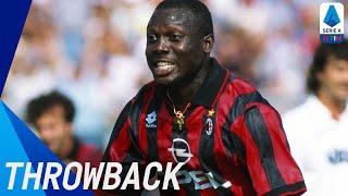 George Weah Best Serie A Goals Throwback Serie A TIM