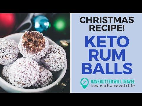 Keto Rum Balls The perfect keto Christmas treat
