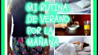 Mi Rutina de Verano por la Mañana // Summer Morning Routine (Belu) Thumbnail