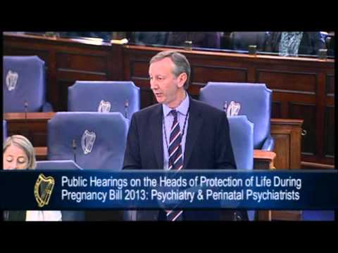 DR JOHN SHEEHAN says rushing to a termination is not a treatment for suicide