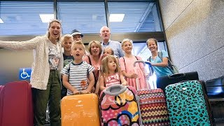 Flying to DISNEY WORLD With SIX KIDS