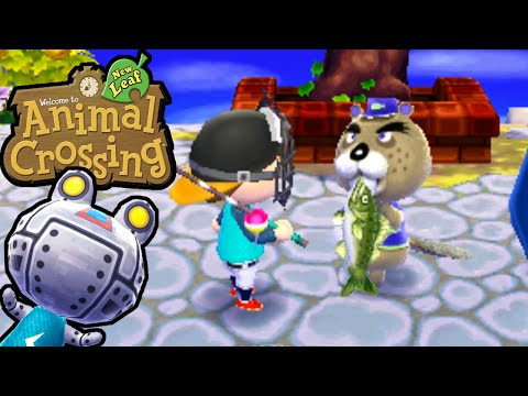 Animal Crossing: New Leaf - Chip Ahoy! Fishing Tournament Gameplay Walkthrough Ep.98 Nintendo 3DS