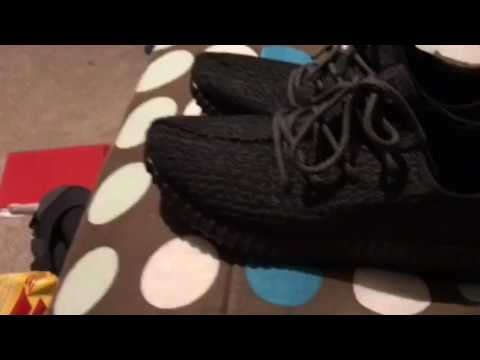 b181c0b97239a1 Review on authentic yeezy boost 350 from yeskicks.cn - YouTube