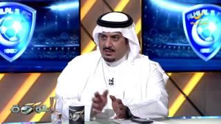 نواف بن سعد :  لاعب مهم  تفاوضنا مع ناديه وأخذنا الموافقه لكن وكيل اللاعب لم ينقل العرض