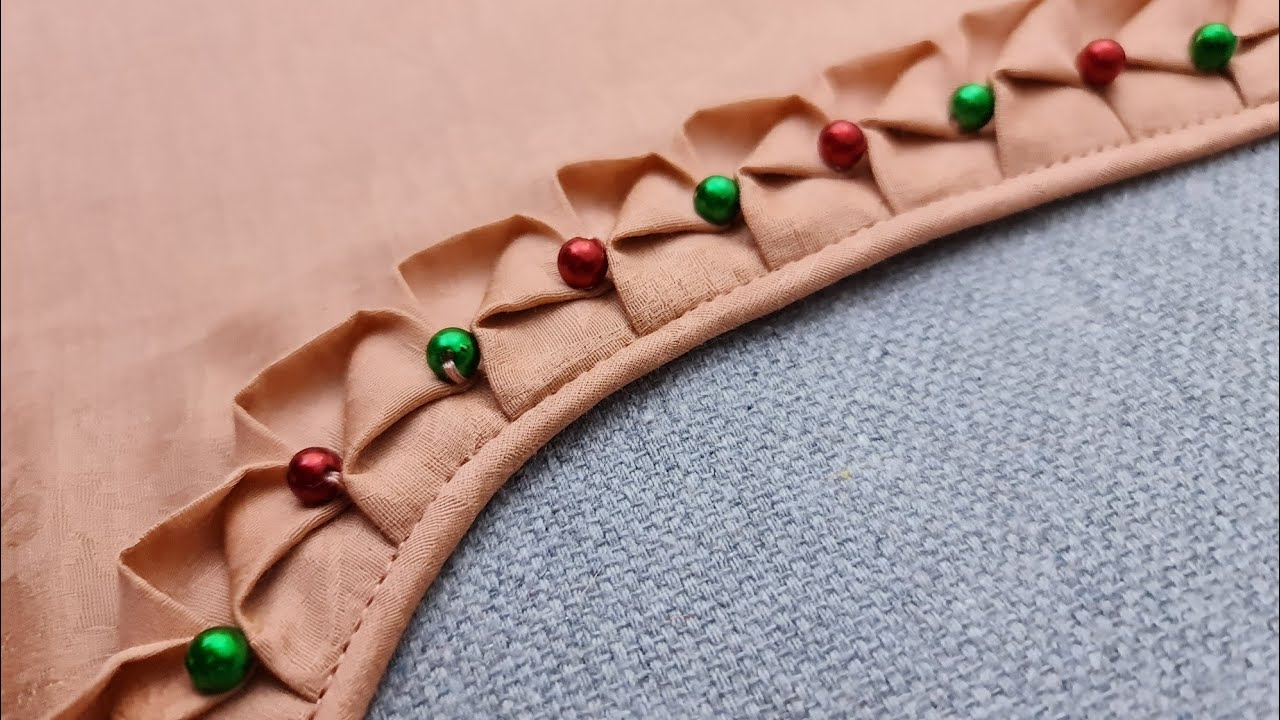 Download LATEST AND BEAUTIFUL NECK DESIGN FOR KURTI/SUIT CUTTING AND STITCHING