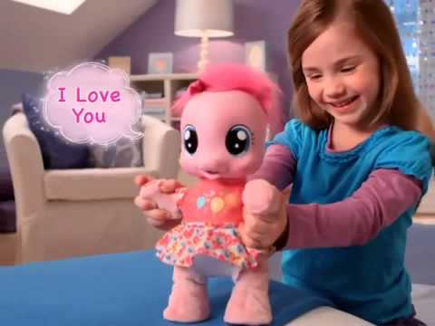 Pinkie Pie Learning To Walk My Little Pony So Soft Toddler ...