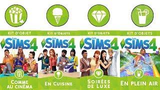 Découverte 4 kit en même temps (euh 5...) ! Sims 4 Découverte Kit