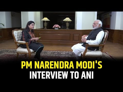 PM Shri Narendra Modi's interview to ANI - 1 January 2019