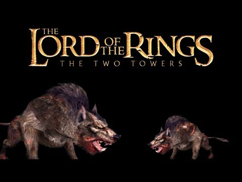 LOTR: The Two Towers (Aragorn - GBA) - Dangerous Dogs! (3)