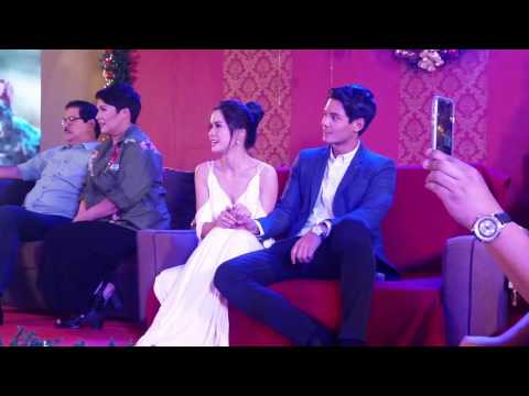 """Jason Dy sings """"Be My Lady"""" theme song on its finale presscon"""