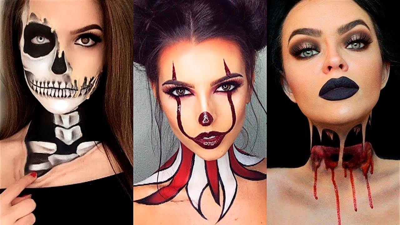Top 15 DIY Halloween Makeup Tutorials Compilation 2017