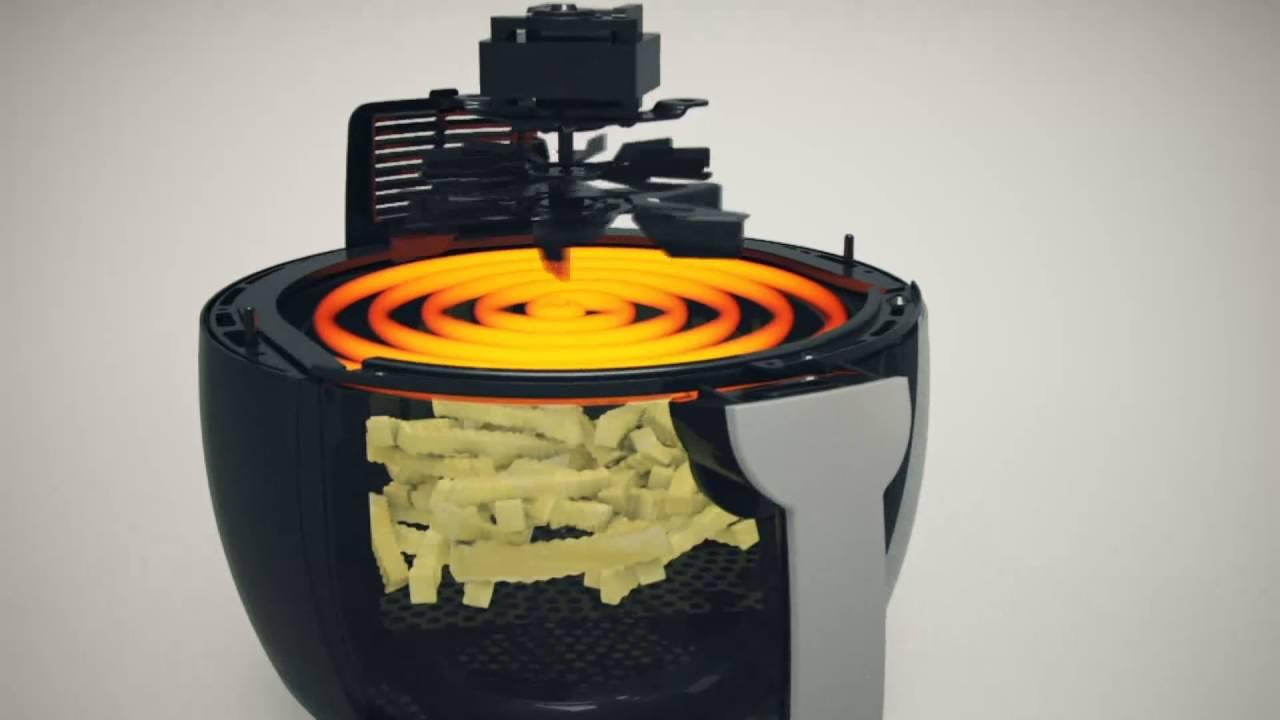 Emeril 3 5qt Pro Plus Air Fryer System W Accessories On