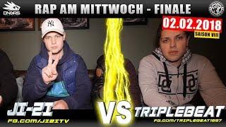 RAP AM MITTWOCH HEIDELBERG: JI-ZI vs TRIPLEBEAT 02.02.18 BattleMania Finale (4/4) GERMAN BATTLE