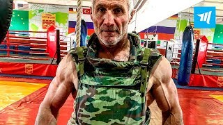 55 Years Old Super Shredded Athlete   Muscle Madness