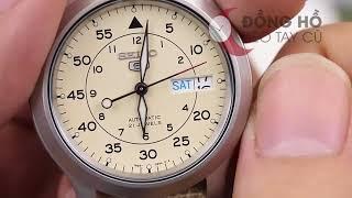 Hướng dẫn cách chỉnh giờ đồng hồ SEIKO 5 sao cho đúng