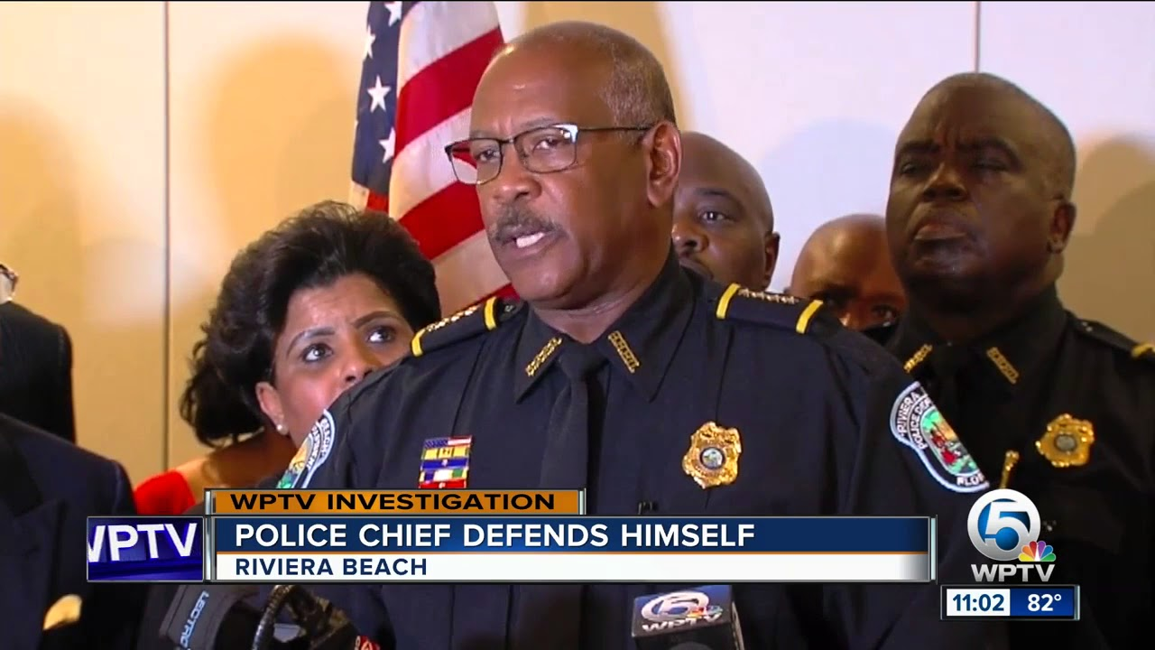 Riviera Beach Police divided; Chief Williams attacks his own officers