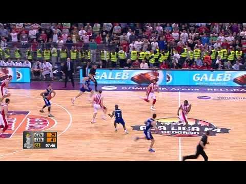 Highlights: Crvena zvezda Telekom - Cibona (24.4.2014)