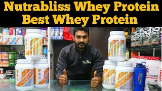 Nutrabliss Whey Protein | Best Whey Protein | Protein Planet