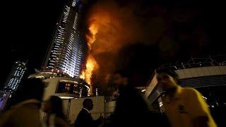 skycrapper fire dubai |  incendie dans une tour de Dubaï