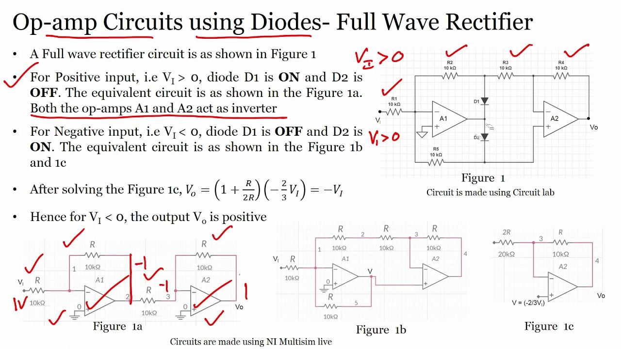 lec10 - Op-amp Applications: Full Wave Rectifier