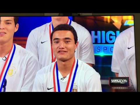 WFAA Features Dallas Jesuit 6A Soccer State Champions