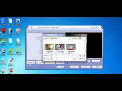 How to use Total Video Conveter