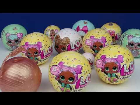 LOL Confetti POP Challenge Kazanan Kim?  YOKSA!!! Seri 3 L.O.L. Sürpriz Bebekler Bidünya Oyuncak