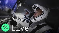 SpaceX Astronaut Launch Mission Attempt: Cape Canaveral, Florida