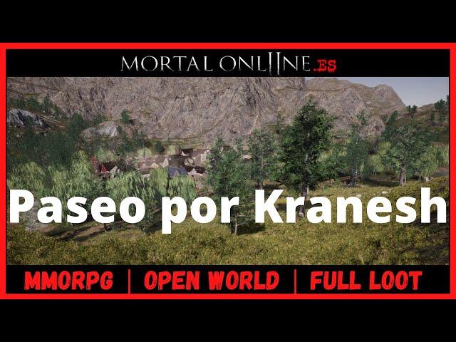 ✮ Mortal Online 2 Comunidad Hispana【PASEO POR KRANESH】MMORPG Sandbox Open World