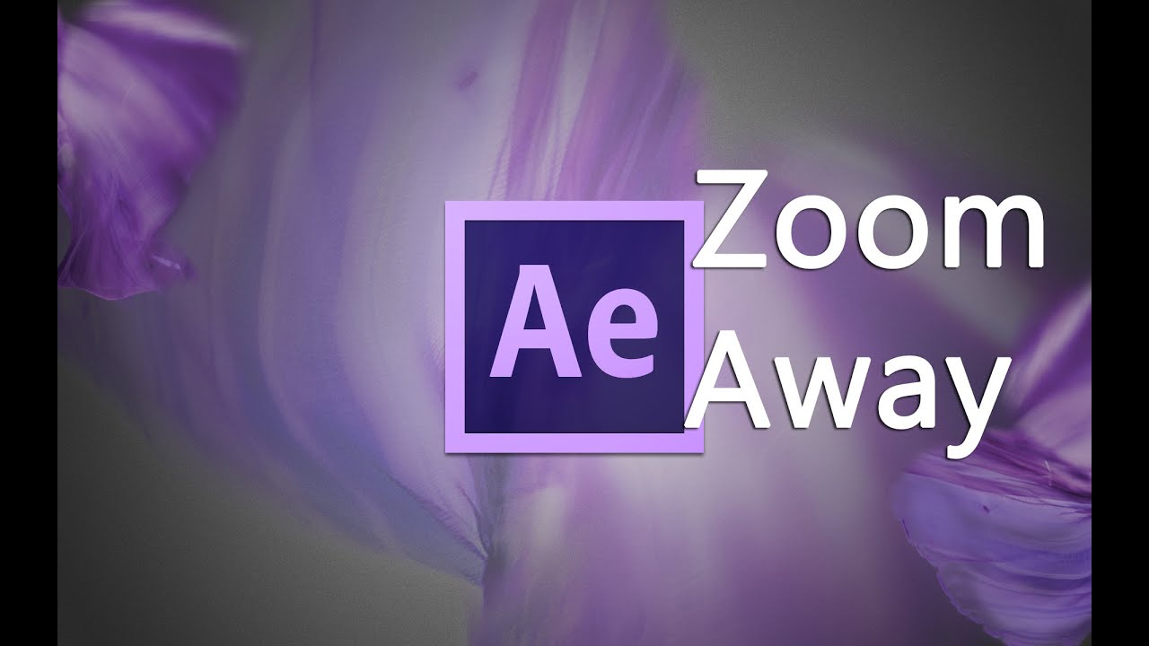 After Effects Tutorial | Zoom away