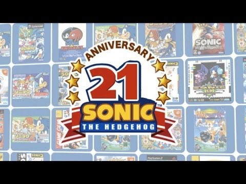 21 Years of Sonic the Hedgehog Timeline