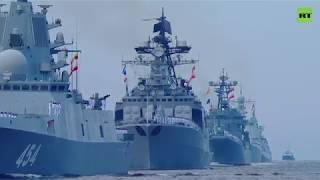 В Санкт-Петербурге прошёл парад в честь Дня ВМФ