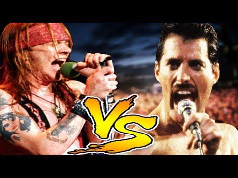 Axl Rose vs Freddie Mercury