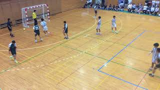 H29 ハンドボール秋季二部リーグ 桐蔭大vs 関東学院(4/6)