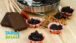 Nutty Hot Chocolate And Coconut Pudding By Tarla Dalal
