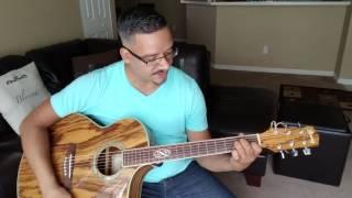 Salmo 108 por New Wine Tutorial en guitarra