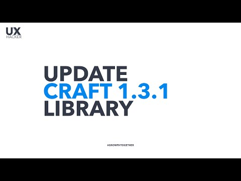 What's New in Craft Update 1.3.1: Library feature - Cloud-connected design assets for your team.