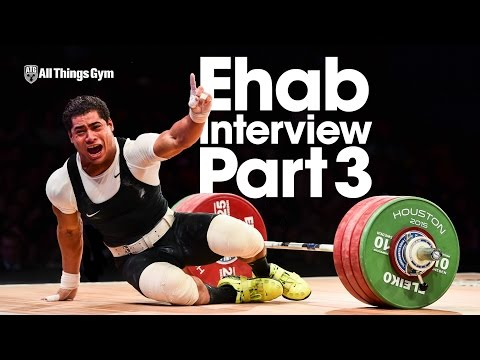 Mohamed Ehab Interview Part 3 of 3 Training Details - Maxing Out, Visualization, Recovery