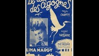 """Lina Margy """"Le Retour Des Cigognes"""" (1945)"""