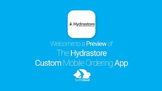 Hydrastore - Mobile App Preview - HYD103W