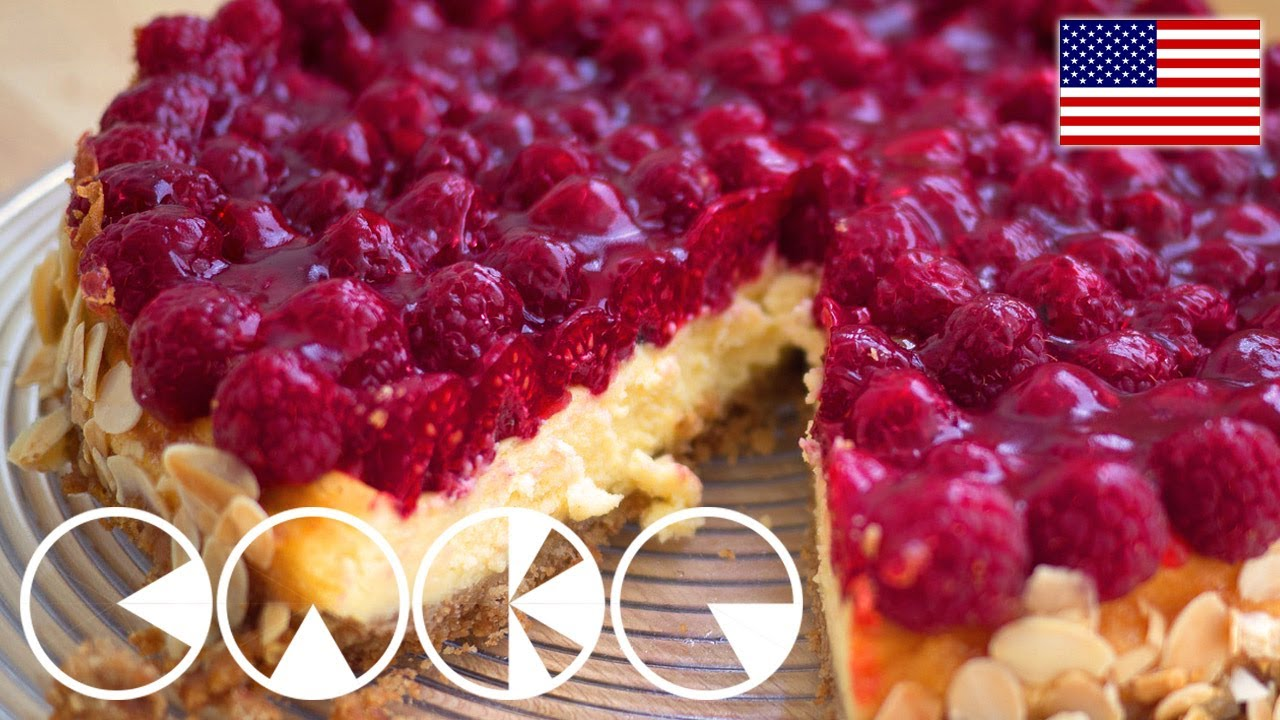 Raspberry Pie Recipe With Mascarpone Youtube