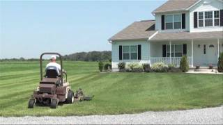 Lawn Striping And Lawn Patterns With A Grasshopper Zero Turn Mower