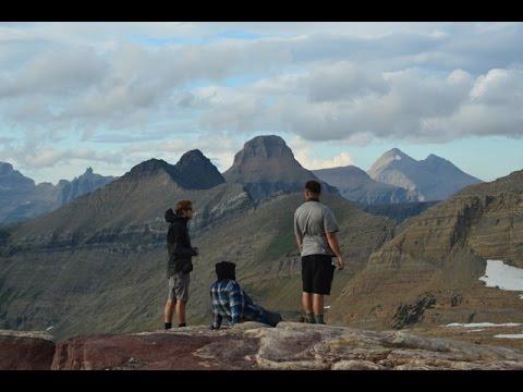 Backpacking Glacier National Park: Gunsight Pass, Lake Ellen Wilson, Sperry Glacier