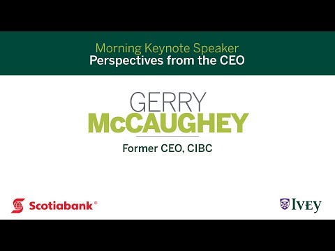 Perspectives from the CEO: Gerry McCaughey